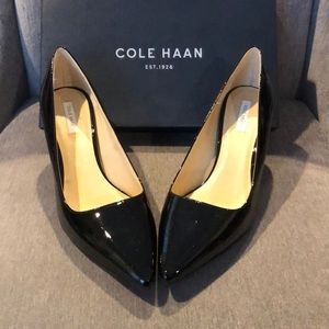 Cole Haan Black Patent Leather Pump